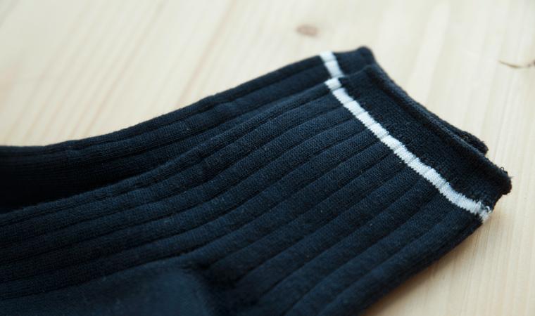 オーガニックコットン sors socks  (ソルズソックス うねうね)
