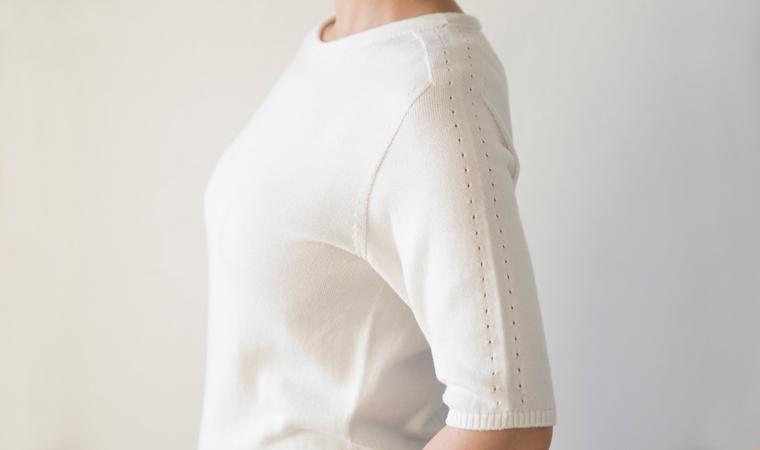 sors knits  <5-sleeve> (ソルズニット 5分袖)