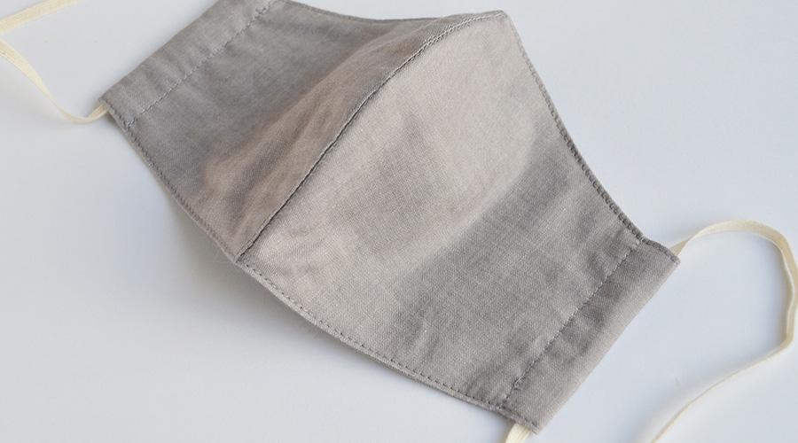 オーガニックコットンでつくった 立体マスク アルティメイトピマ