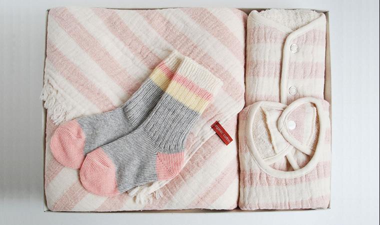 みんなでお祝いセット ピンク【出産祝い】
