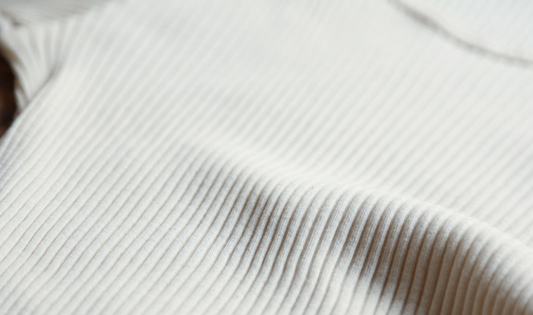 スーピマリブ 8分袖シャツ